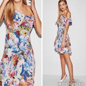NWT | Express Floral Slip Dress
